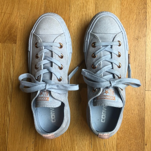 85a415aa262e Converse Shoes - Converse Chuck Taylor All Star Low Top Suede Sz 6